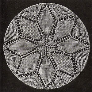 Small doily A