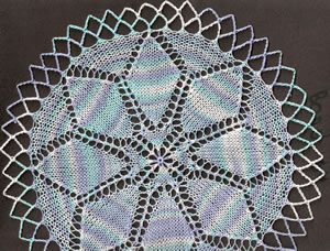 Sample of doily A