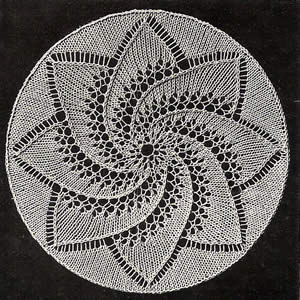 Doily patterns :: blanket patterns :  doily knitting knitting pattern