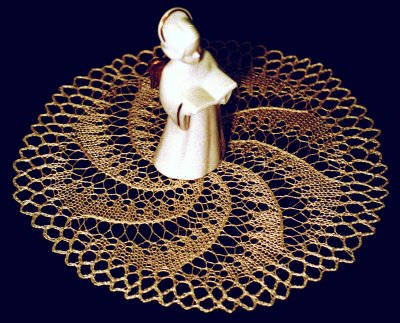 Small doily with spiral
